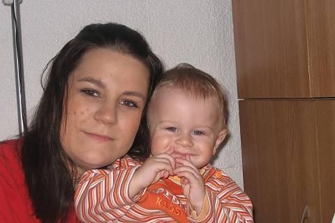FOTKA - Já a můj syn Sebastianek