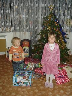 FOTKA - Už máme první dárky pod stromečkem!