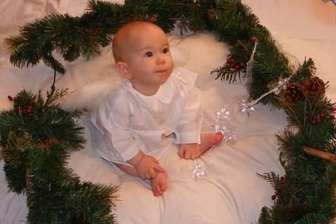 FOTKA - Vánoční andílek