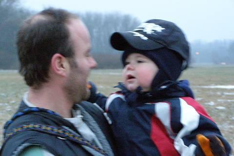 FOTKA - Matěj s tátou