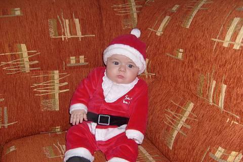 FOTKA - Moje první vánoce