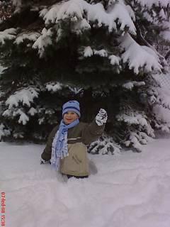 FOTKA - Daneček a zima