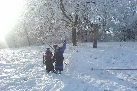 FOTKA - děti a sníh