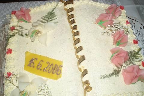 FOTKA - velky krasny překrasny dort