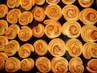 česnekové kolečka s nivou .