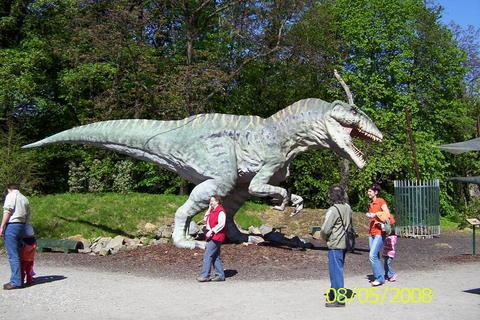 FOTKA - Dinopark Vyškov - Pachycephalosaurus
