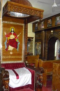 FOTKA - kostel v egyptě
