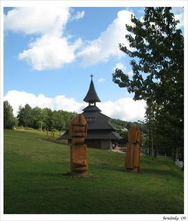 FOTKA - kaplička -na Soláni v  Beskydech