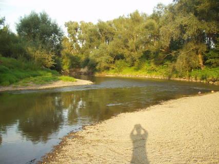 FOTKA - voda, písek, kameny, stromy