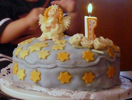 FOTKA - první dort