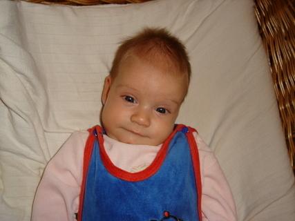 FOTKA - Eliška tři měsíce