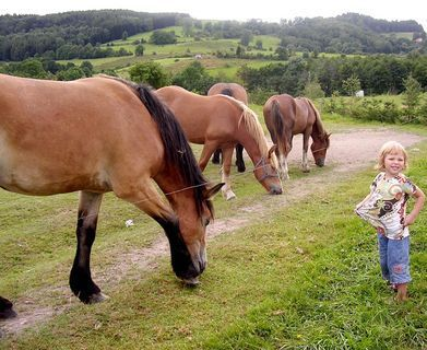 FOTKA - Adélka s koníčkama