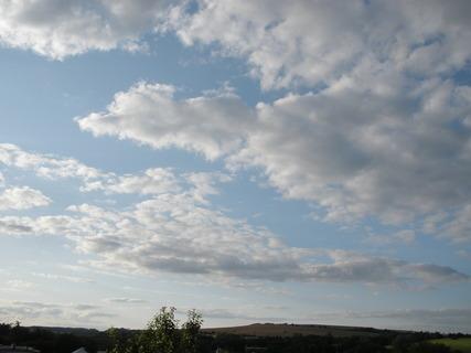 FOTKA - Žene se na nás peřina mraků, doufám, že nespadne