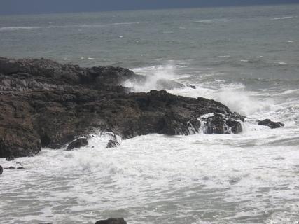 FOTKA - Mumbles -schyluje se k bouřce
