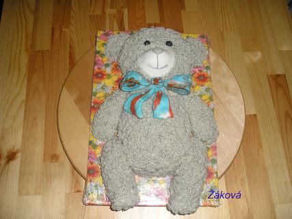 FOTKA - chlupatý medvídek