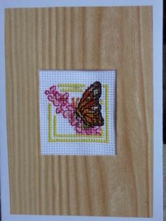 FOTKA - Křížková výšivka 5 - motýl