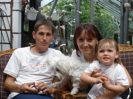 FOTKA - dcera,zeť a vnučka