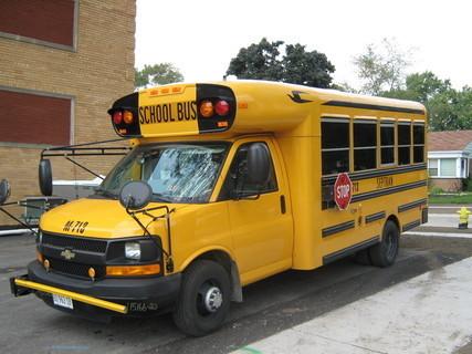 FOTKA - Chicago-školní autobus