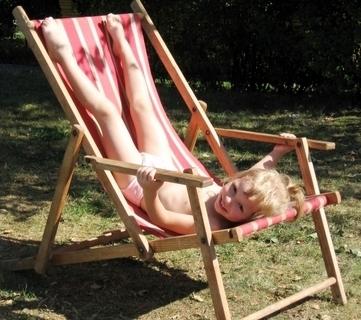FOTKA - Adélka relaxuje
