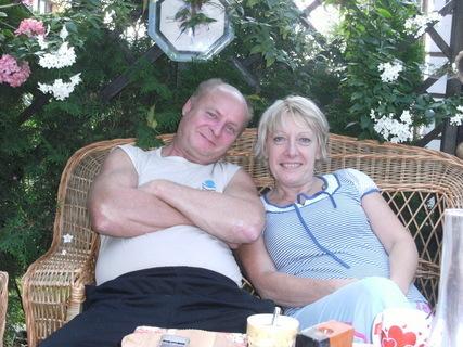 FOTKA - babi s dědou na vejminku