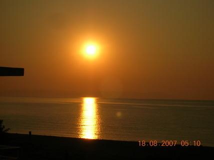 FOTKA - slunce na obzoru