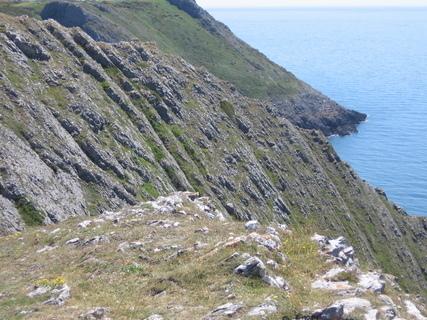 FOTKA - 3 Cliffs- z tama bych spadnout nechtěla