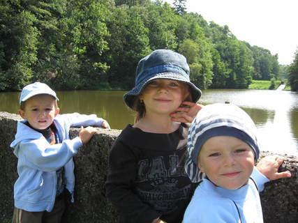 FOTKA - Dětičky u přehrady