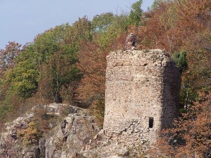 FOTKA - Zřícenina hradu Oheb -Seč.