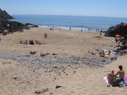 FOTKA - 3 Cliffs - taková malá plažička