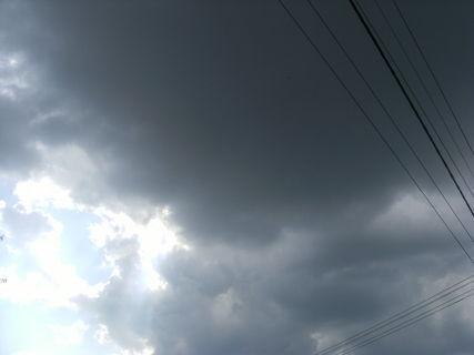FOTKA - přicházející bouřka