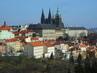Pražský hrad ze Seminarské zahrady