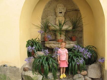 FOTKA - nádvoří zámku Orlík