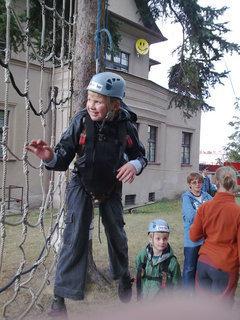 FOTKA - Matěj horolezec.