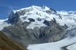 Ledovce na Monte Rosa