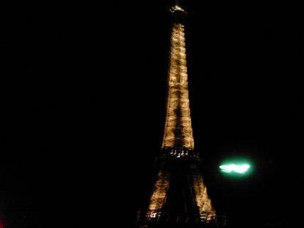 FOTKA - PAŘÍŽ v noci