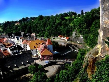 FOTKA - M�sto UNESCO s Vltavou