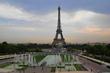 Eifelovka od Trocadéra