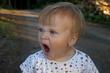 Janička zívá