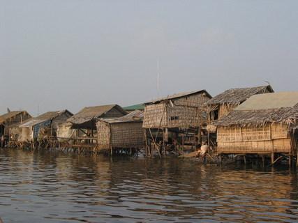 FOTKA - Kambodža řeka