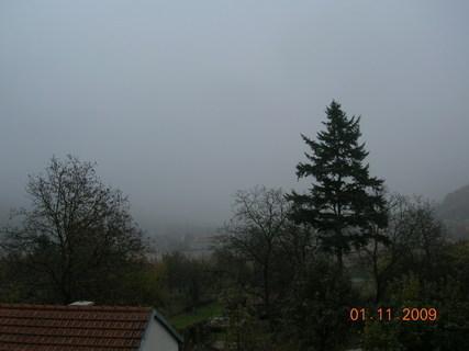 FOTKA - dnešní počasí 1.11.09