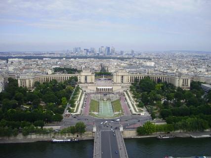 FOTKA - Pohled z Eiffelovky na Paříž 2