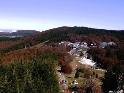 FOTKA - Beskydy -pohled na Pustevny