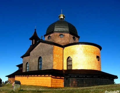 FOTKA - kostelík Cyrila a Metoděje na Radhošti