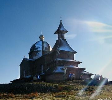 FOTKA - poutní kaple na Radhošti
