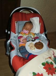 FOTKA - moje první štědrovečerní večeře
