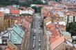 Pohled z Nuselského mostu