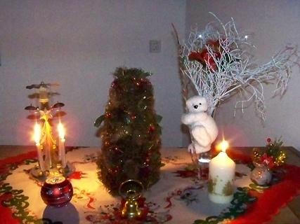 FOTKA - vánoční stolek
