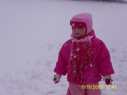FOTKA - sněží a nic nevidím
