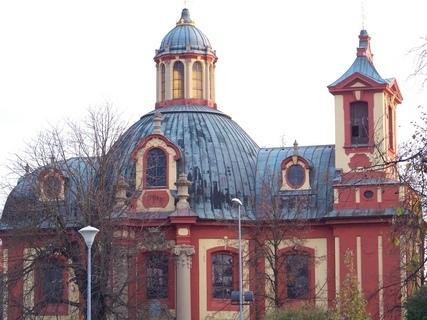 FOTKA - Kunratický kostel ve dne