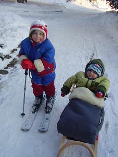 FOTKA - Jdeme lyžovat!